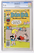 Modern Age (1980-Present):Humor, Richie Rich #217 File Copy (Harvey, 1982) CGC NM+ 9.6 Off-white towhite pages....