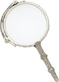 Estate Jewelry:Objects d'Art, Edwardian Diamond, Platinum Lorgnette. ...