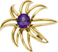 Estate Jewelry:Brooches - Pins, Tanzanite, Gold Brooch, Tiffany & Co.. ...