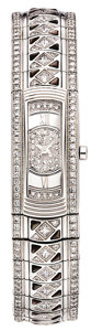 "Timepieces:Wristwatch, Mauboussin Lady's Diamond, White Gold ""Lady M - Mini"" BraceletWristwatch, modern. ..."