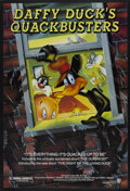 "Movie Posters:Animated, Daffy Duck's Quackbusters (Warner Brothers, 1988). One Sheet (27"" X40""). Animated...."