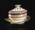 Ceramics & Porcelain, AN ENGLISH CREAMWARE TUREEN AND COVER. Wedgwood, Stoke-on-Trent, Staffordshire, England, Circa 1829. Marks: WEDGWOOD / N... (Total: 2 Items)