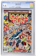 Bronze Age (1970-1979):Adventure, Logan's Run #2 (Marvel, 1977) CGC NM 9.4 Off-white to white pages....