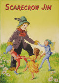 Mainstream Illustration, ENGLISH ILLUSTRATOR (20th Century). Scarecrow Jim.Watercolor on paper. 10.5 x 7.5 in.. Not signed. ...