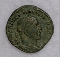 Ancients:Ancient Lots  , Ancients: Lot of two AE sestertii of the mid-3rd century.... (Total: 2 coins)