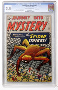 Silver Age (1956-1969):Mystery, Journey Into Mystery #73 (Marvel, 1961) CGC GD+ 2.5 Cream tooff-white pages....