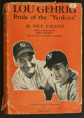"Movie Posters:Sports, The Pride of the Yankees (RKO, 1942). Photoplay Edition Book (185pages, 6"" X 8""). Sports Biography. Starring Gary Cooper, T..."