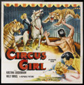 "Movie Posters:Adventure, Circus Girl (Republic, 1956). Six Sheet (81"" X 81""). Adventure.Starring Kristina Soederbaum, Willy Birgel, Adrian Hoven and..."
