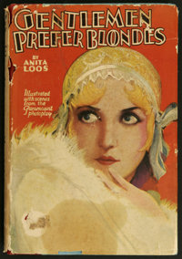 "Gentlemen Prefer Blondes (Paramount, 1928). Photoplay Edition Book (217 pages, 5.25"" X 7.5""). Comedy. Starring..."