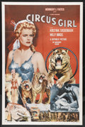 "Movie Posters:Adventure, Circus Girl (Republic, 1956). One Sheet (27"" X 41""). CircusAdventure. Starring Kristina Söderbaum, Willy Birgel and Adrian ..."