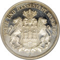 German States:Hamburg, German States: Hamburg. 2 Mark 1914J, KM294, Proof 66 Cameo NGC, a dazzling example with flashy mirrored surfaces and instant eye appeal....
