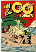 Golden Age (1938-1955):Funny Animal, Zoo Funnies #2 (Charlton, 1945) Condition: VF+....