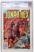 Bronze Age (1970-1979):Western, Jonah Hex #14 Don Rosa Collection (DC, 1978) CGC NM- 9.2 White pages....