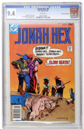 Bronze Age (1970-1979):Western, Jonah Hex #9 Don Rosa Collection (DC, 1978) CGC NM 9.4 White pages....