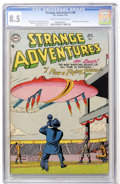 Golden Age (1938-1955):Science Fiction, Strange Adventures #46 (DC, 1954) CGC VF+ 8.5 Cream to off-whitepages....