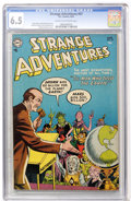 Golden Age (1938-1955):Science Fiction, Strange Adventures #47 (DC, 1954) CGC FN+ 6.5 Cream to off-whitepages....