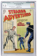 Golden Age (1938-1955):Science Fiction, Strange Adventures #48 (DC, 1954) CGC Qualified VF/NM 9.0 Cream tooff-white pages....