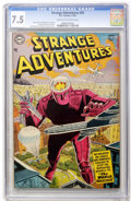 Golden Age (1938-1955):Science Fiction, Strange Adventures #50 (DC, 1954) CGC VF- 7.5 Cream to off-whitepages....
