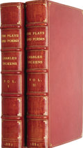 Books:First Editions, Charles Dickens. The Plays and Poems of Charles Dickens.London: W. H. Allen & Co., 1882. First suppressed editi...(Total: 2 Items)