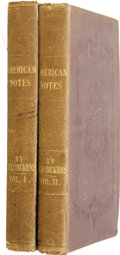 Books:First Editions, Charles Dickens. American Notes for General Circulation....(Total: 2 Items)