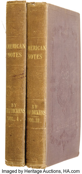 charles dickens american notes