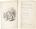 "Books:First Editions, [Charles Dickens]. Sketches of Young Couples & YoungGentlemen. By ""Boz.""..."