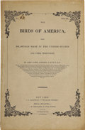 Books:Non-fiction, John James Audubon. The Birds of America from Drawings Made inthe United States and Their Territories. No. [63]. ... (Total:3 Items)