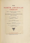 Books:First Editions, The North American Indian, Being a Series of Volumes Picturing andDescribing the Indians of the United States and Alaska. ...