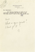 Autographs:U.S. Presidents, Lyndon B. Johnson Autograph Note Signed as President, ...