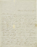 Autographs:Military Figures, Charley F. Force Autograph Letter Signed Regarding a MilitaryExecution. ...