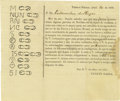 Autographs:Non-American, Partly Printed Document Issued by Vicente Garza Listing CattleBrands. ...