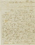 Autographs:Non-American, Signed Maria Antonia Gil Autograph Letter Regarding a Lack ofFunds. ...