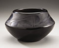 American Indian Art:Pottery, A SAN ILDEFONSO BLACKWARE JAR. Lupita Martinez. c. 1950...