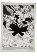 Original Comic Art:Splash Pages, Chris Wozniak and Gary Yap - Green Lantern: Mosaic #6, Splash page1 Original Art (DC, 1992)....