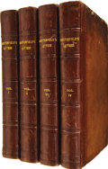 Books:Non-fiction, Philip Dormer Stanhope. Letters Written by the Late RightHonourable Philip Dormer Stanhope, Earl of Chesterfield, to Hi...(Total: 4 Items)