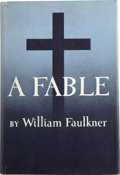 Books:First Editions, William Faulkner. A Fable. [New York]: Random House,[1954]....