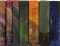 Books:Fiction, J.K. Rowling. Harry Potter and the: Sorcerer's Stone; Chamber ofSecrets; Prisoner of Azkaban; Goblet of Fire; Order of ... (Total:7 Items)