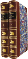 Books:Non-fiction, James Anderson. Essays Relating to Agriculture and RuralAffairs. Edinburgh: Printed for William Creech and T. Cadel...(Total: 2 Items)