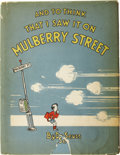 Books:Signed Editions, Dr. Seuss. And To Think I Saw It on Mulberry Street. NewYork: The Vanguard Press, [1937]....
