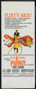 "Movie Posters:Action, In Like Flint (20th Century Fox, 1967). Insert (14"" X 36"").Action...."