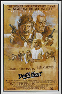 "Death Hunt (20th Century Fox, 1981). One Sheet (27"" X 41"") Style B. Action"