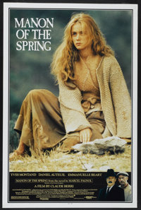 """Manon of the Spring (Orion Classics, 1987). One Sheet (27"""" X 41""""). Drama"""