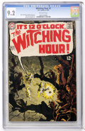 Silver Age (1956-1969):Horror, The Witching Hour #3 (DC, 1969) CGC NM- 9.2 Off-white pages....