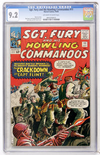Sgt. Fury and His Howling Commandos #11 (Marvel, 1964) CGC NM- 9.2 Off-white to white pages