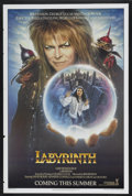 "Movie Posters:Fantasy, Labyrinth (Tri-Star, 1986). One Sheet (27"" X 41"") Advance. Fantasy...."