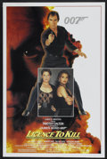 """Movie Posters:James Bond, Licence to Kill (United Artists, 1989). One Sheet (27"""" X 41""""). James Bond...."""