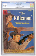 Silver Age (1956-1969):Western, Four Color #1009 The Rifleman (#1) (Dell, 1959) CGC VF/NM 9.0 Creamto off-white pages....