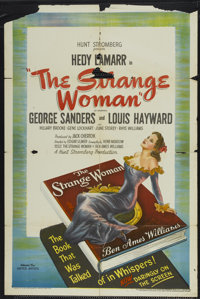 "The Strange Woman (United Artists, 1946). One Sheet (27"" X 41""). Film Noir"