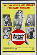 """Movie Posters:Adult, Swingin' Models (Hemisphere Pictures, 1973). One Sheet (27"""" X 41""""). Adult...."""