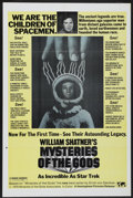 "Movie Posters:Documentary, Mysteries of the Gods (Hemisphere Pictures, 1977). One Sheet (27"" X 41""). Documentary...."
